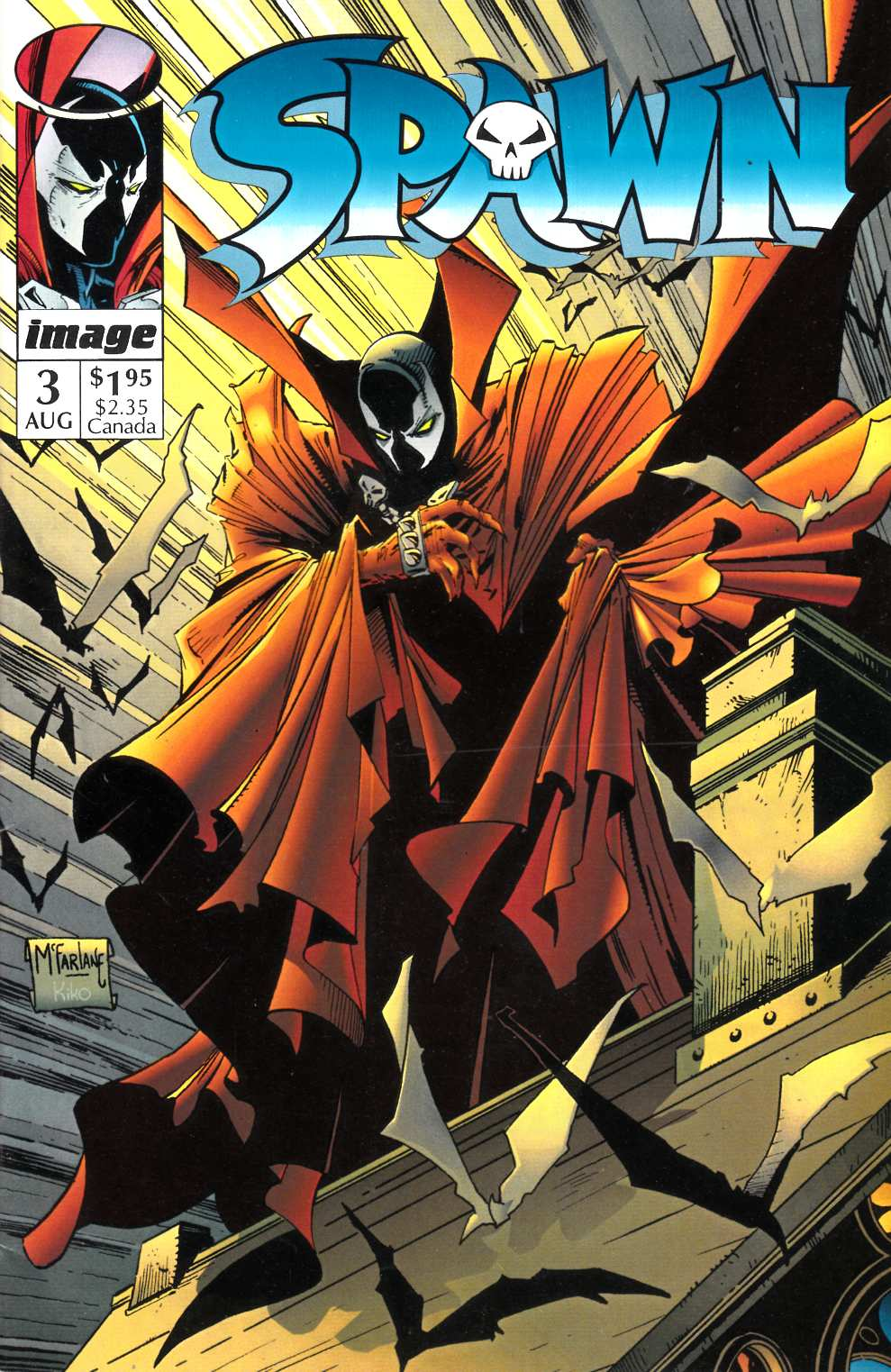 Spawn #3 Near Mint Minus (9.2) [Image Comic] THUMBNAIL