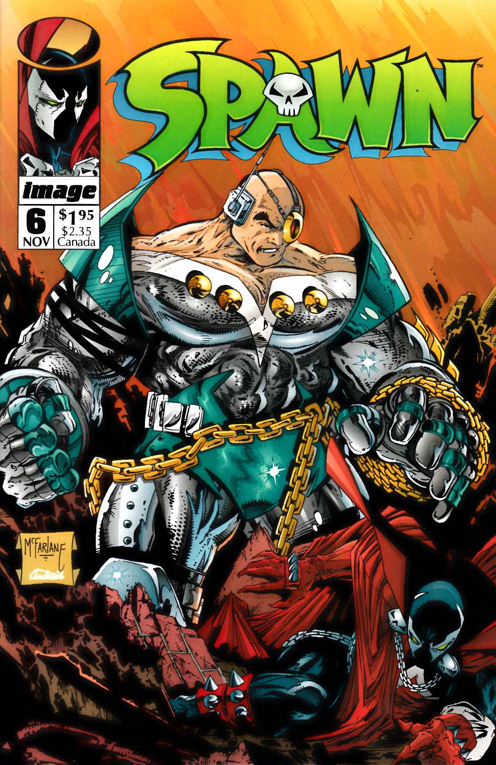 Spawn #6 Near Mint (9.4) [Image Comic] THUMBNAIL