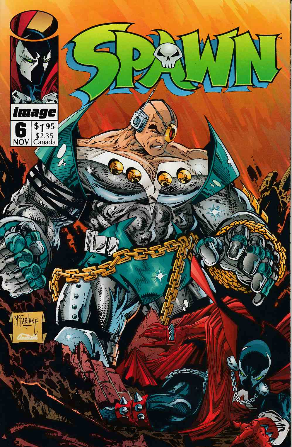 Spawn #6 Very Fine (8.0) [Image Comic] THUMBNAIL