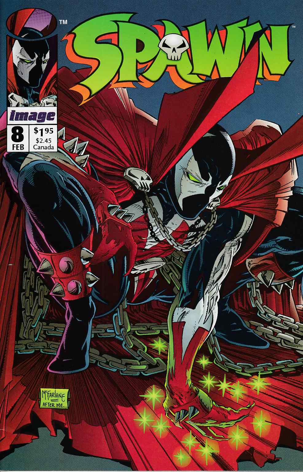 Spawn #8 Fine (6.0) [Image Comic] THUMBNAIL