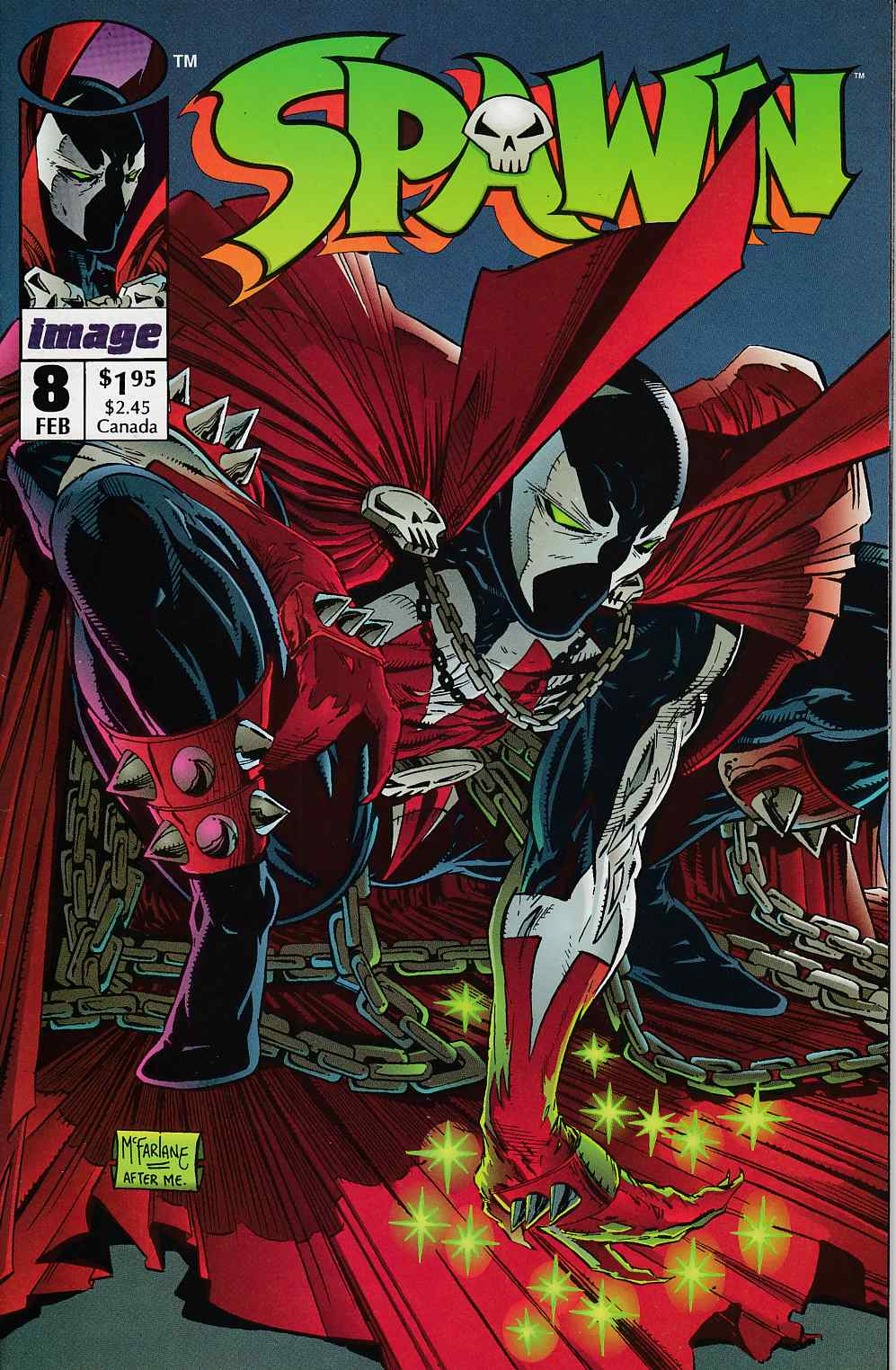 Spawn #8 Very Fine (8.0) [Image Comic]_THUMBNAIL