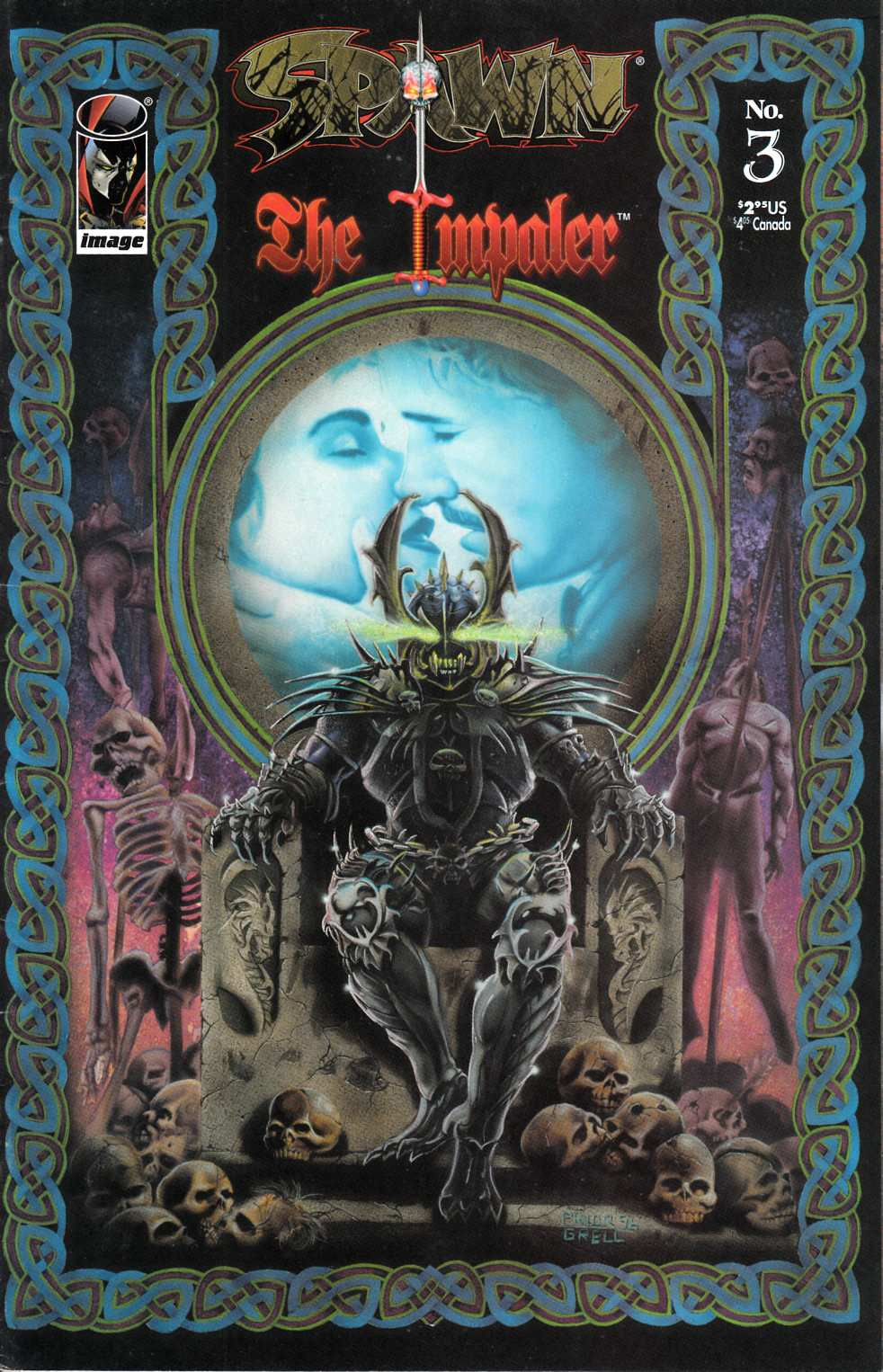Spawn the Impaler #3 Very Good (4.0) [Image Comic] THUMBNAIL