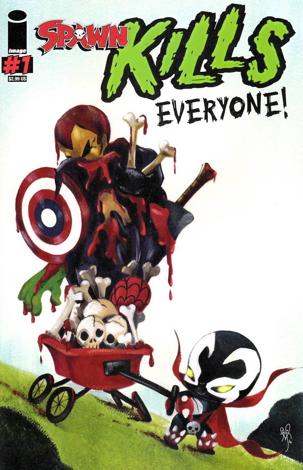 Spawn Kills Everyone #1 Cover C Near Mint (9.4) [Image Comic] LARGE