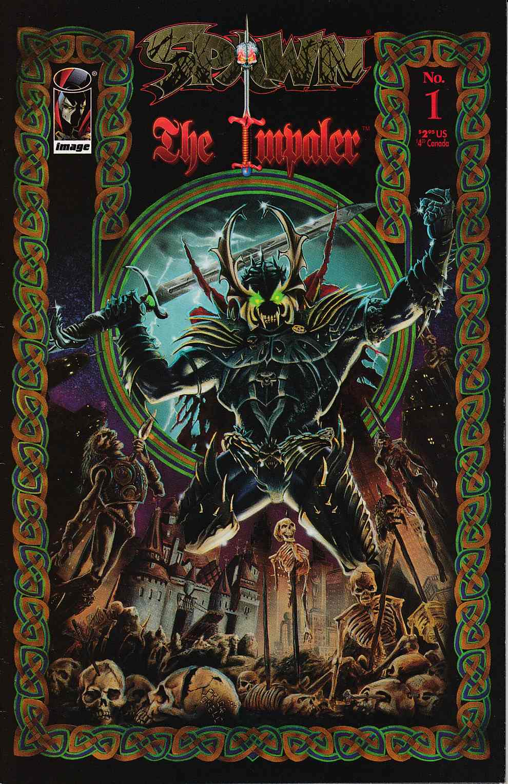 Spawn the Impaler #1 Fine (6.0) [Image Comic] THUMBNAIL