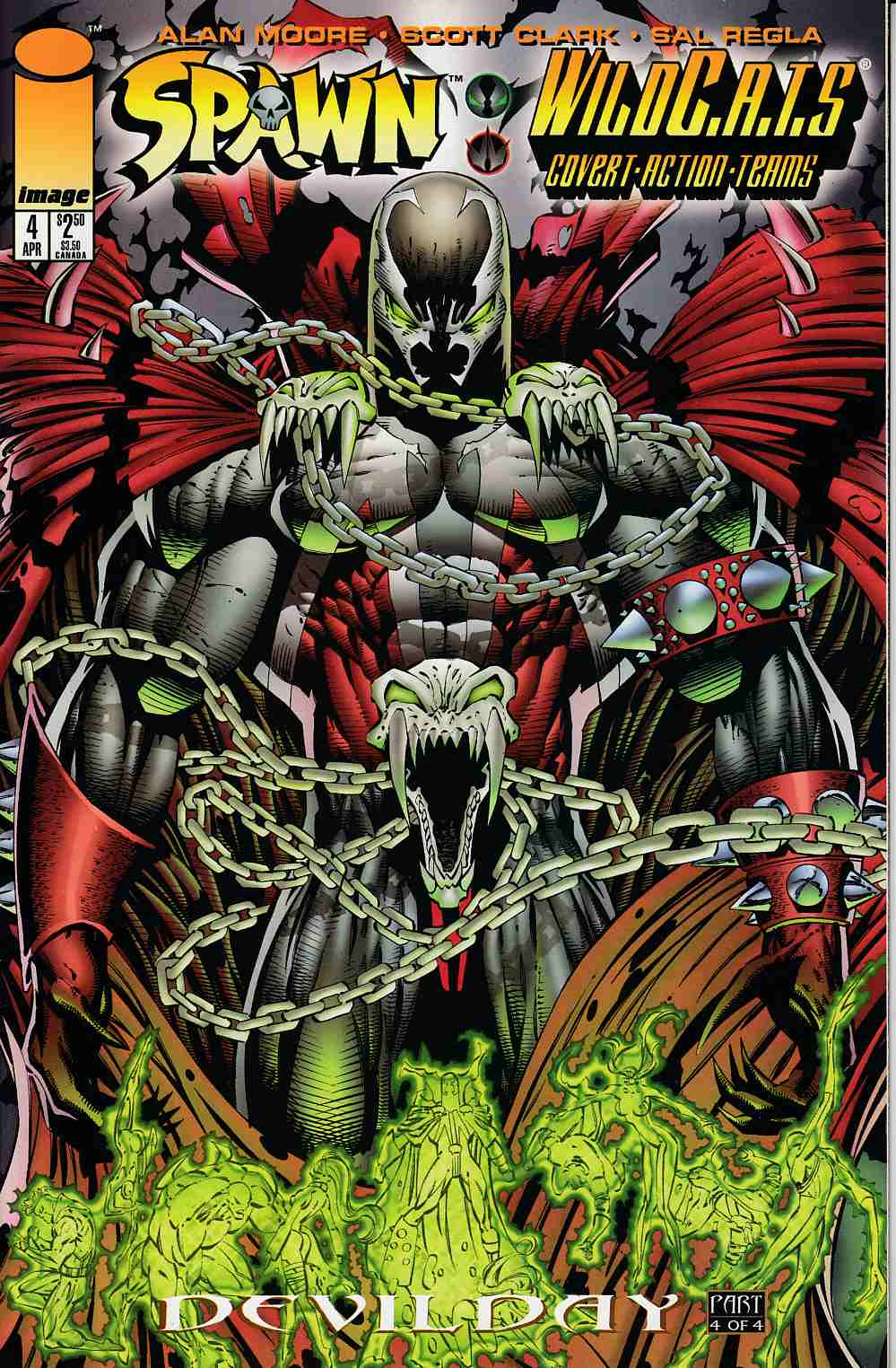 Spawn Wildcats #4 Very Fine (8.0) [Image Comic] THUMBNAIL