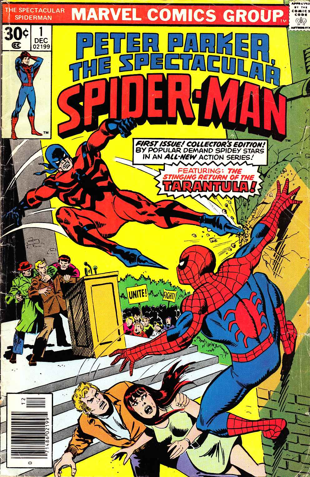 Peter Parker Spectacular Spider-Man #1 [Marvel Comic] THUMBNAIL