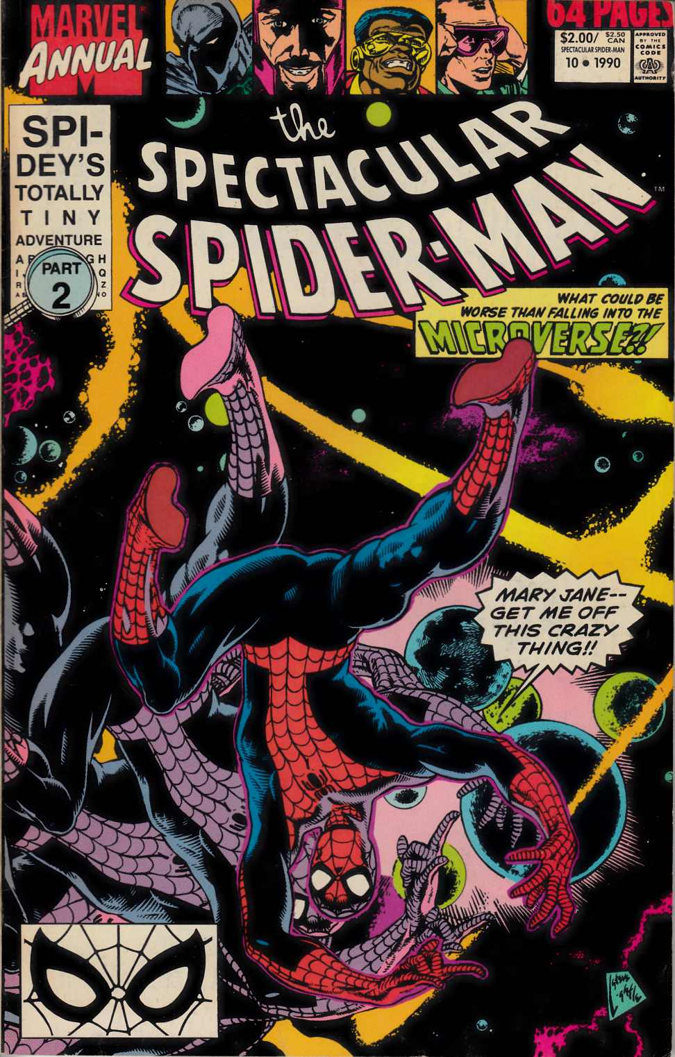 Spectacular Spider-Man Annual #10 Fine (6.0) [Marvel Comic] LARGE