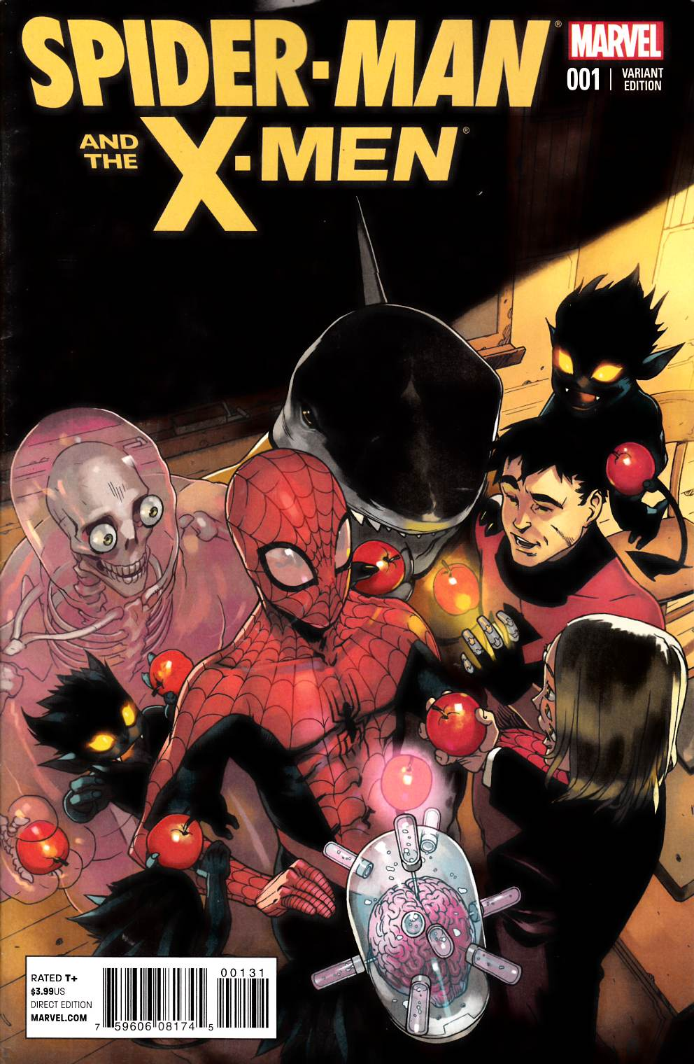 Spider-Man and X-Men #1 Bengal Variant Cover [Marvel Comic] THUMBNAIL