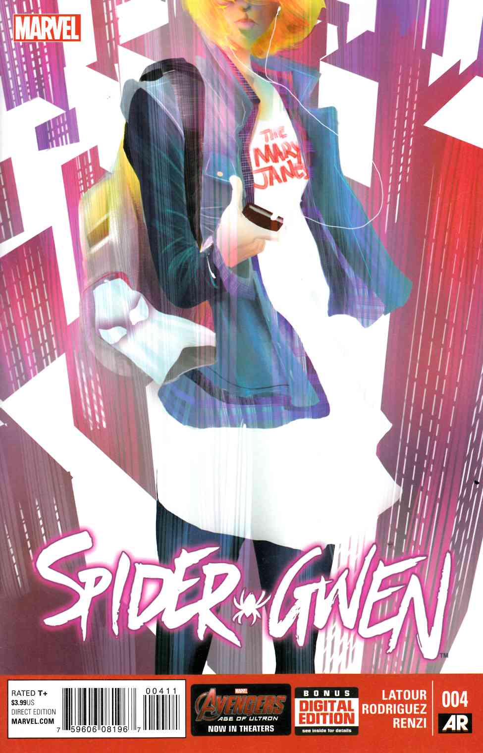 Spider-Gwen #4 [Marvel Comic] THUMBNAIL