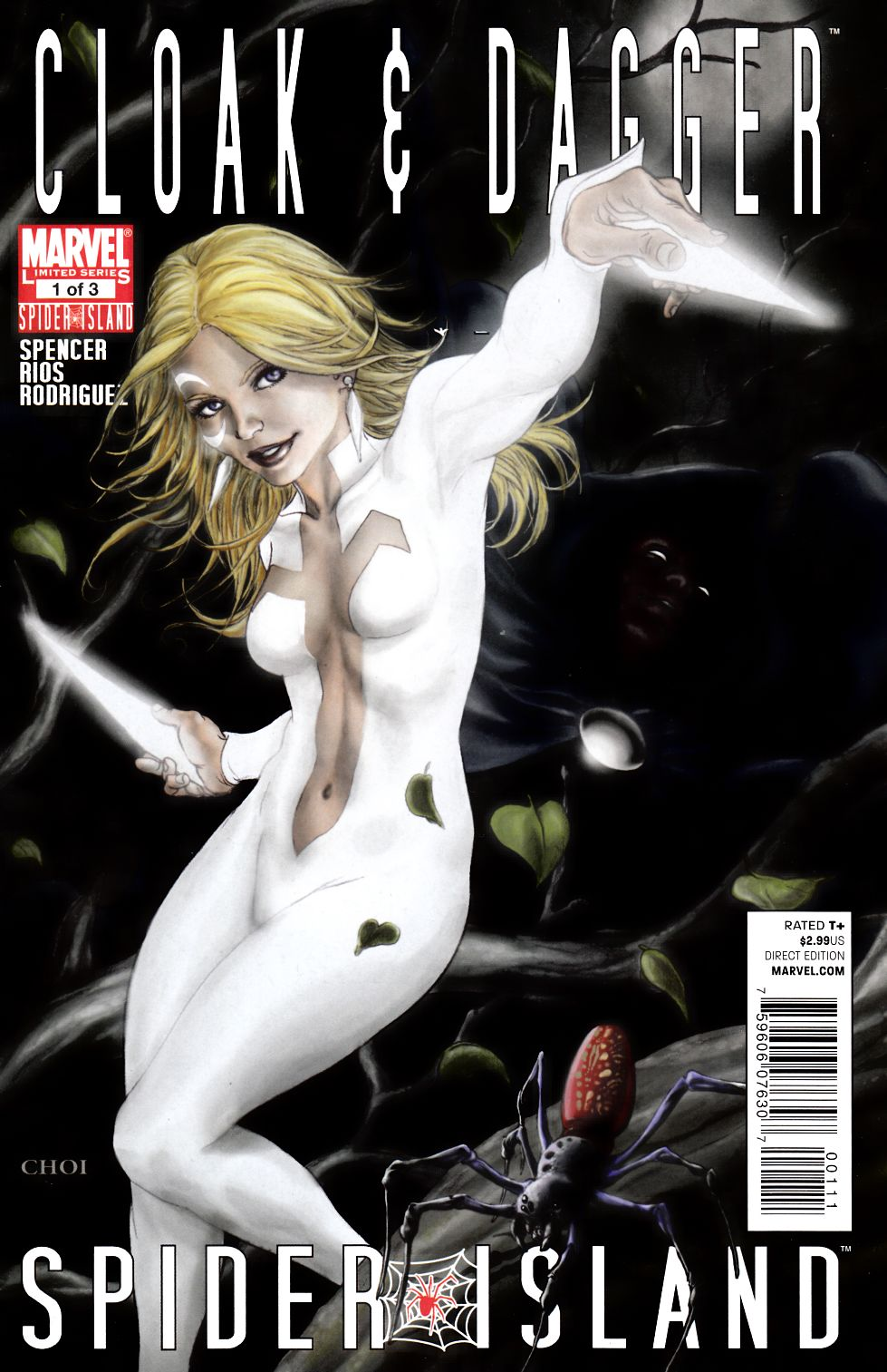 Spider-Island Cloak and Dagger #1 [Marvel Comic] THUMBNAIL