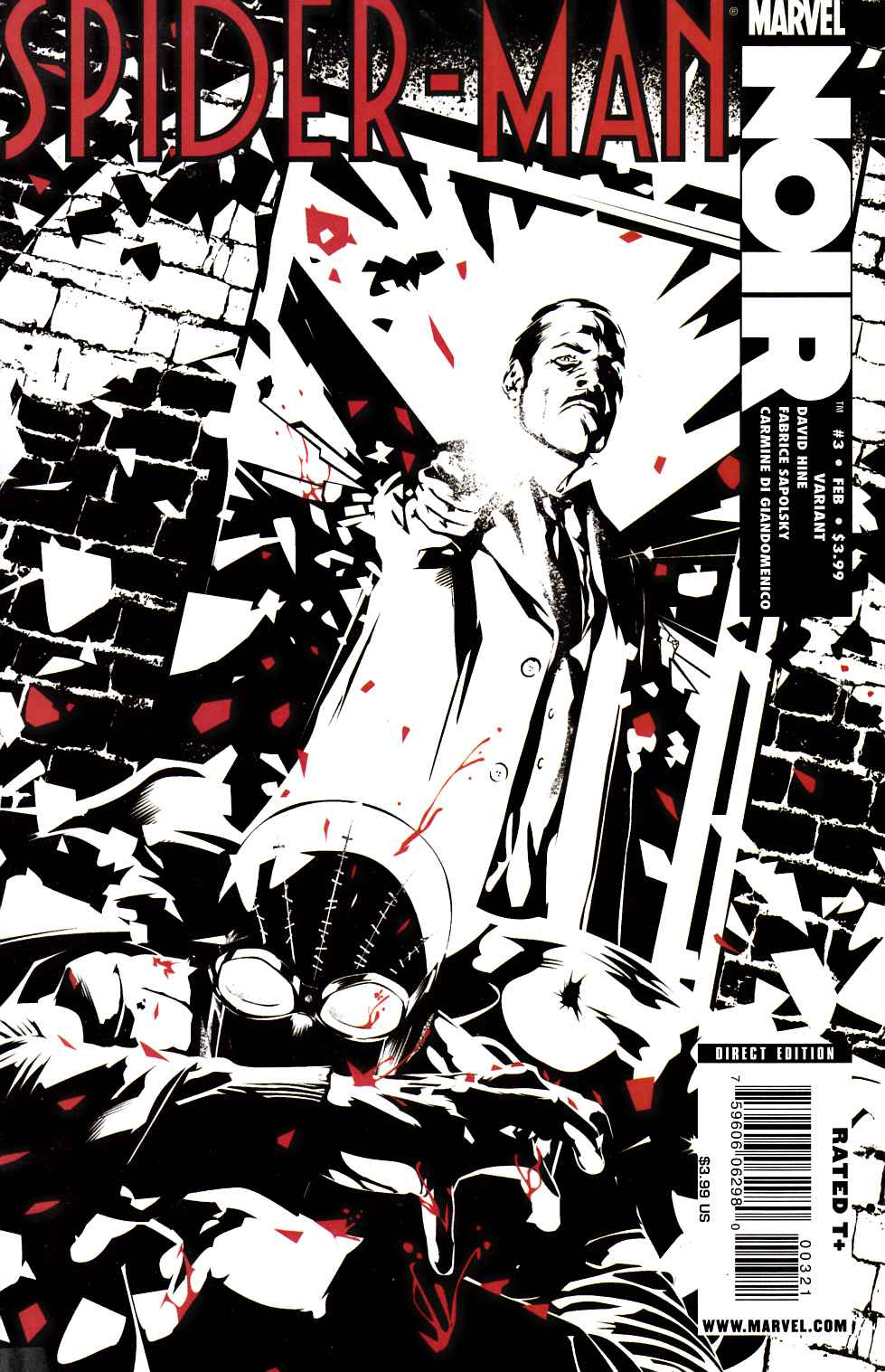 Spider-Man Noir #3 Calero Variant Cover [Marvel Comic] THUMBNAIL