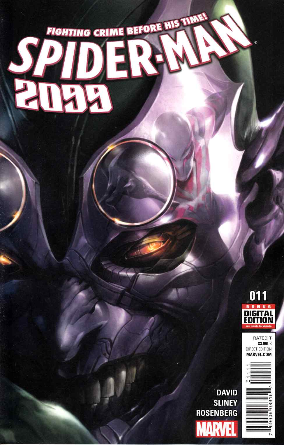 Spider-Man 2099 #11 [Marvel Comic] LARGE