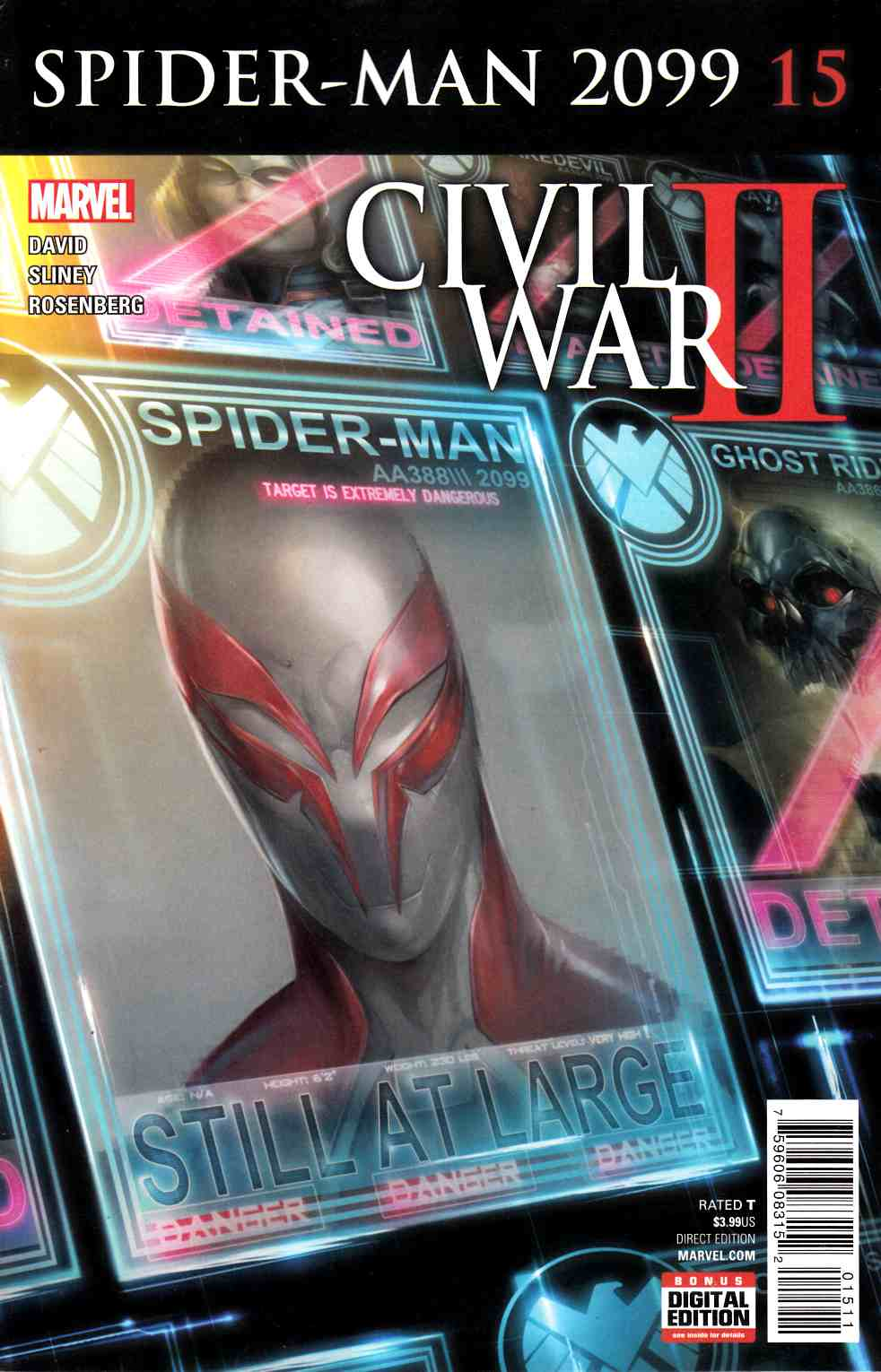 Spider-Man 2099 #15 [Marvel Comic] LARGE