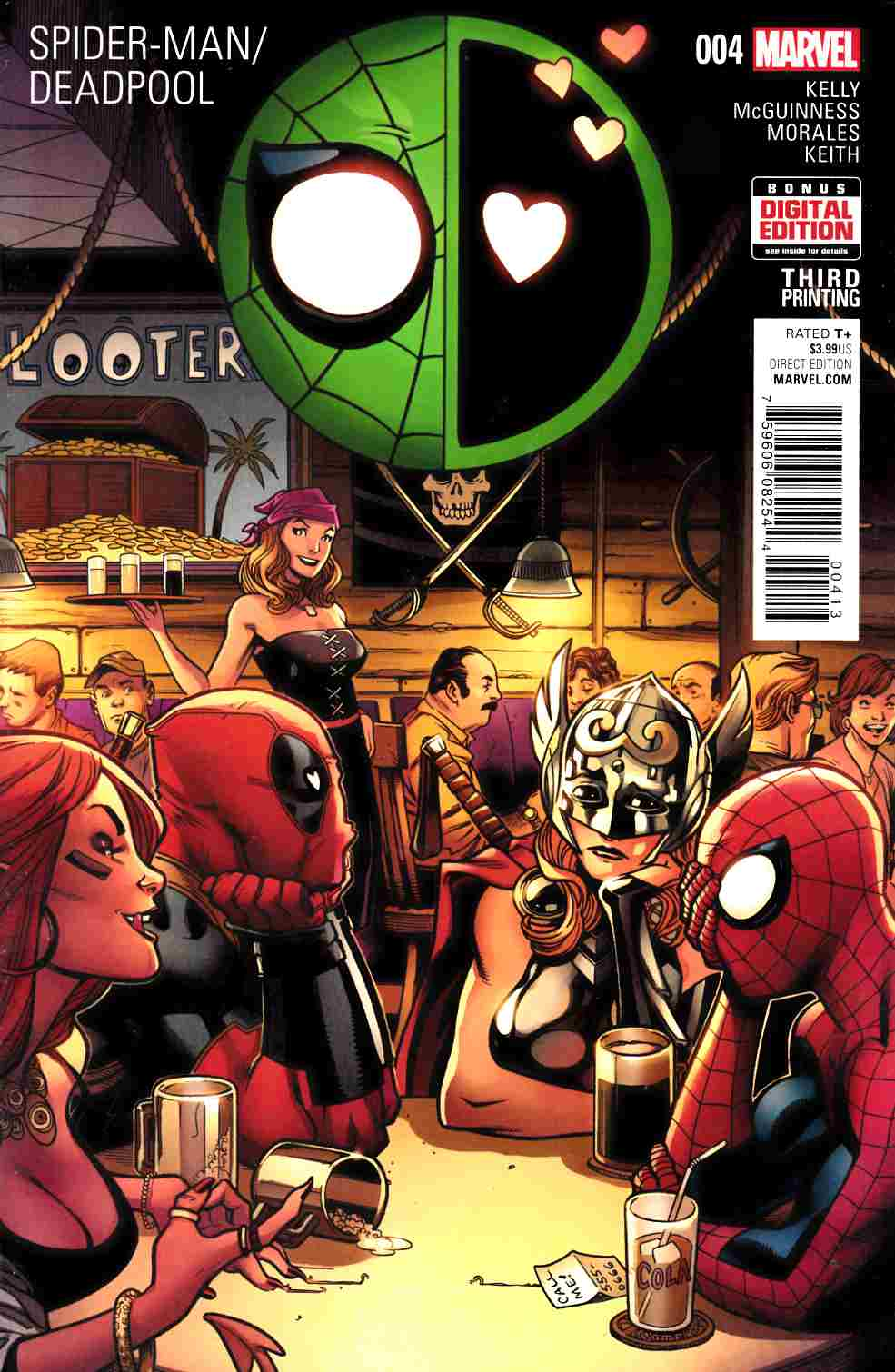Spider-Man Deadpool #4 Third Printing [Marvel Comic] THUMBNAIL