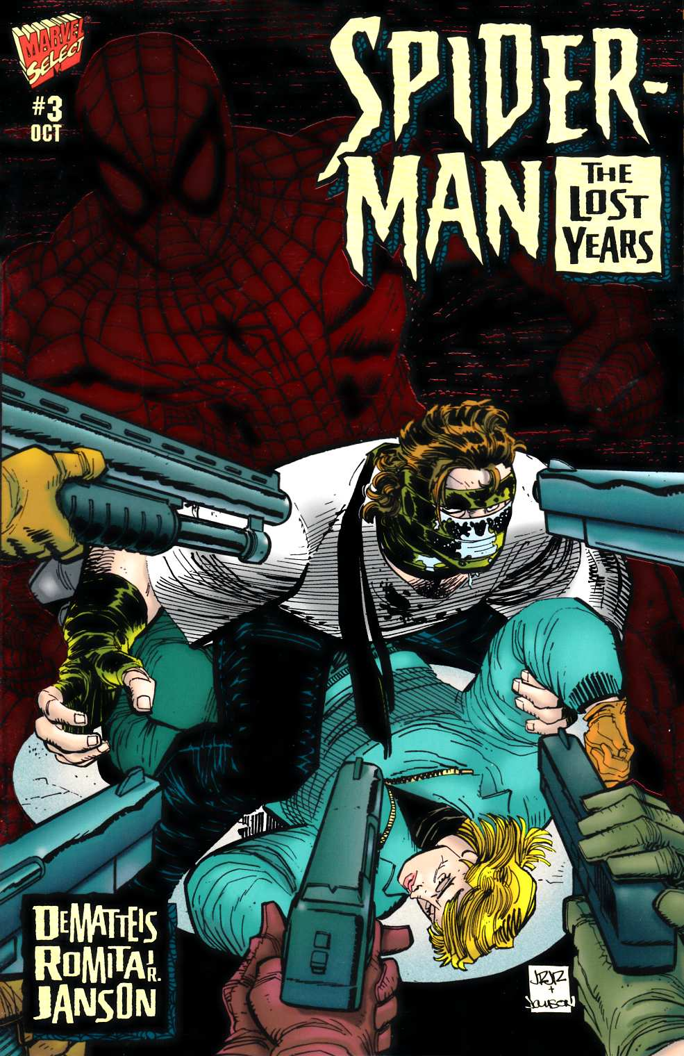 Spider-Man the Lost Years #3 Near Mint (9.4) [Marvel Comic] LARGE