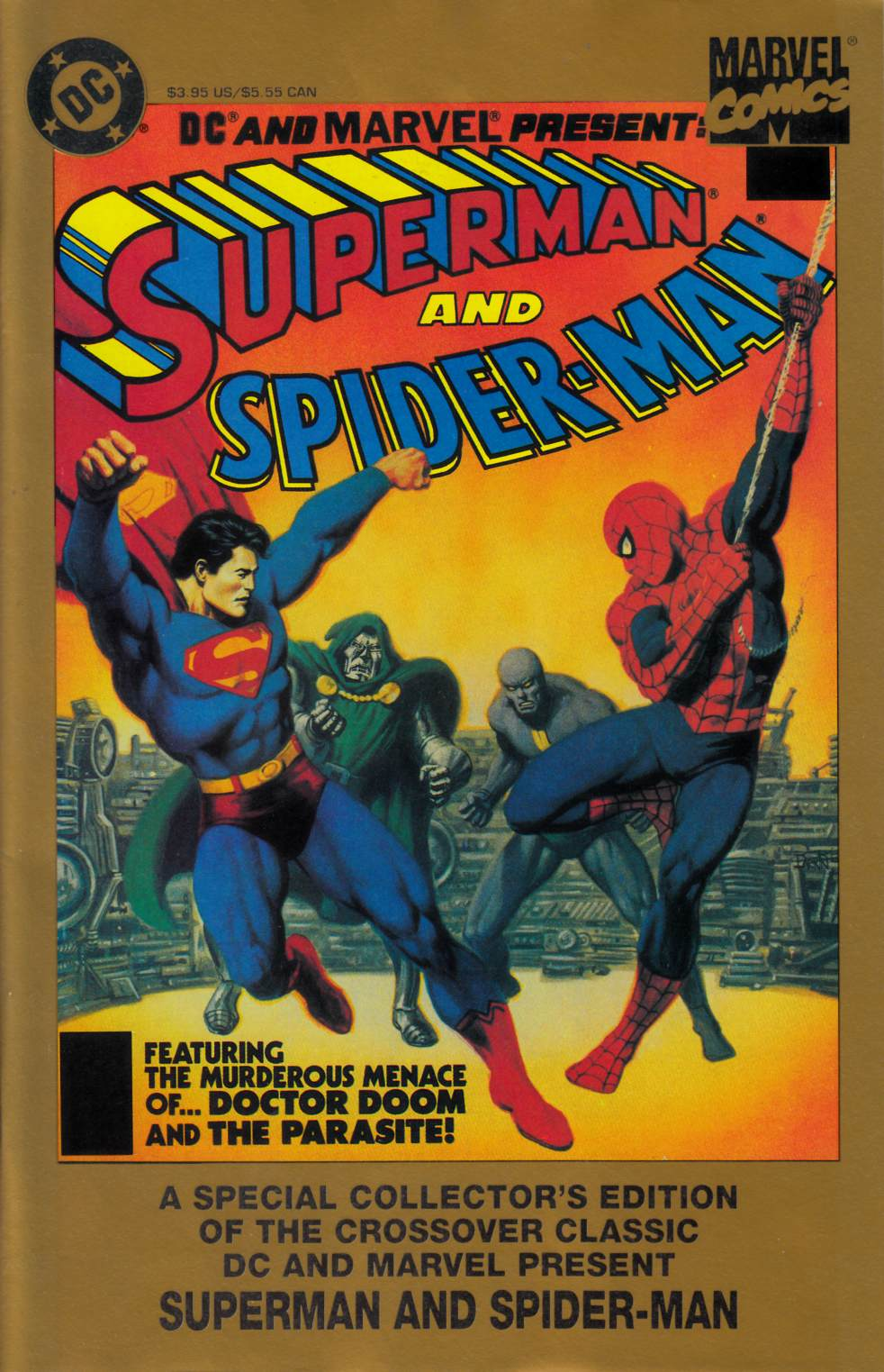 Superman and Spider-Man #1 [DC Comic] THUMBNAIL