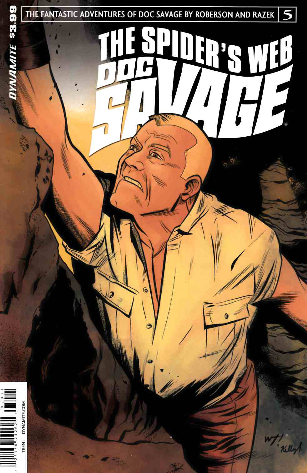Doc Savage Spiders Web #5 [Dynamite Comic] THUMBNAIL