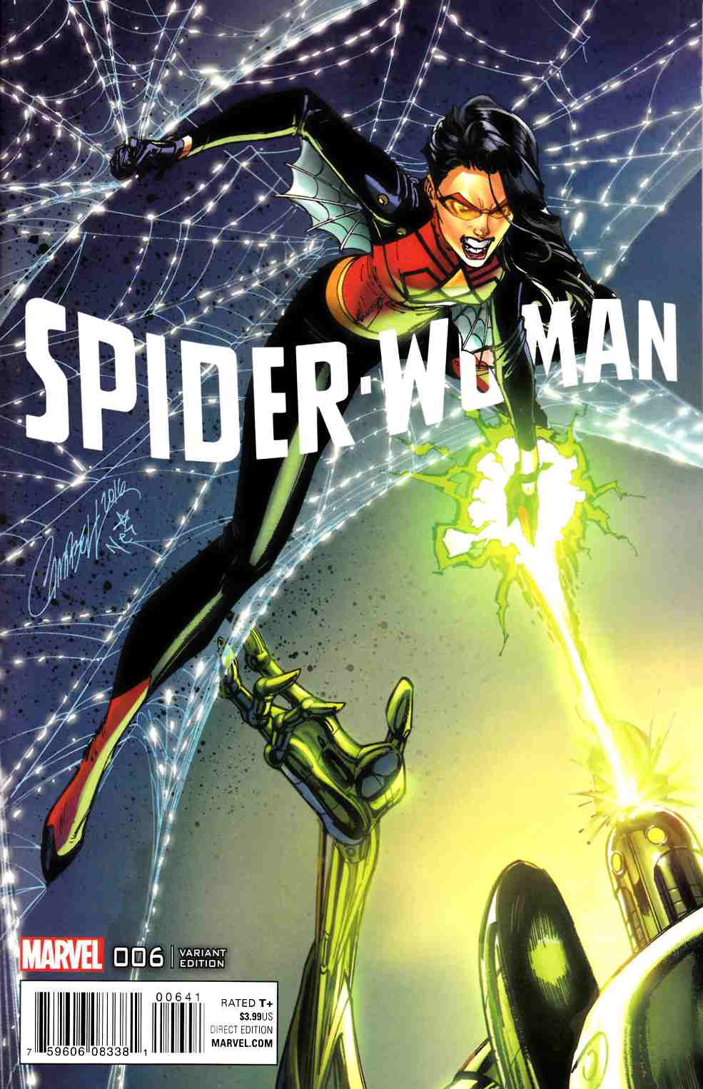 Spider-Woman #6 Campbell Connecting D Variant Cover [Marvel Comic] THUMBNAIL