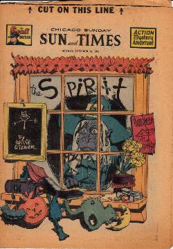 Spirit Weekly Newspaper Comic [October 26th 1947] LARGE