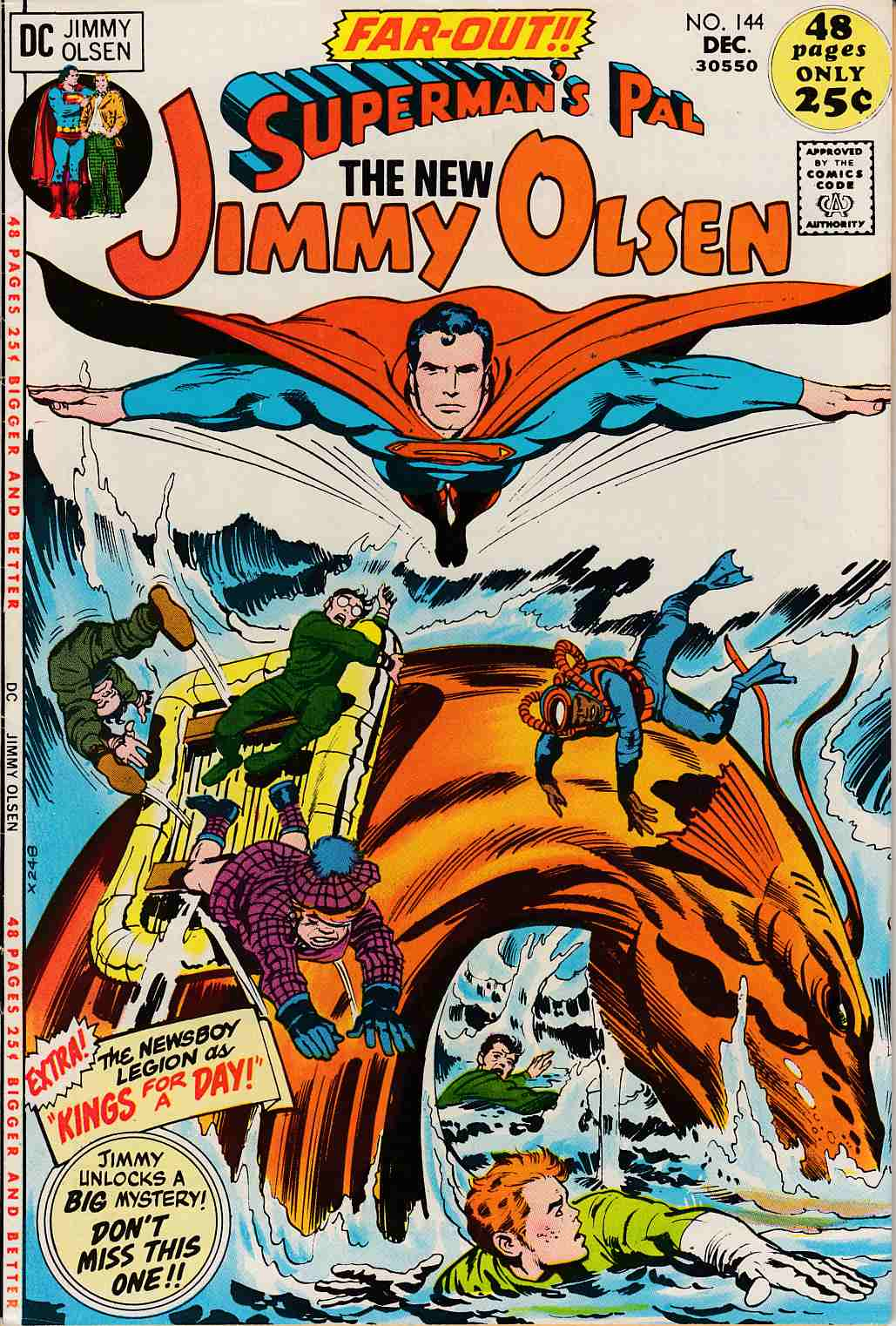 Superman's Pal Jimmy Olsen #144 Fine (6.0) [DC Comic]_LARGE
