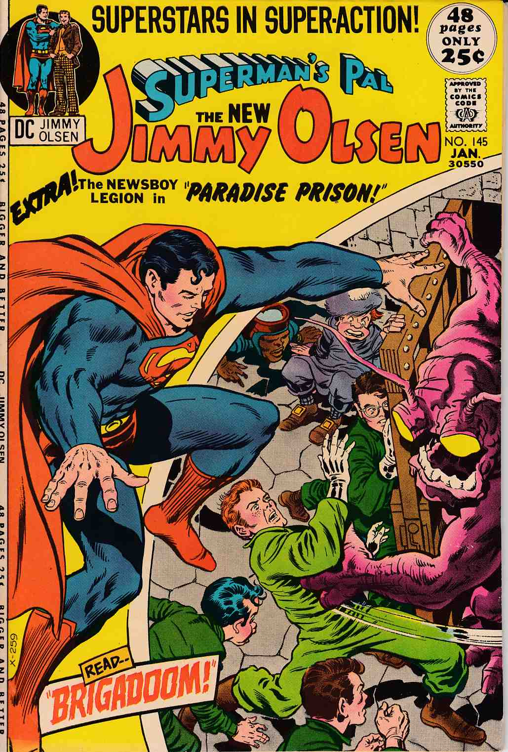 Superman's Pal Jimmy Olsen #145 Fine (6.0) [DC Comic] LARGE