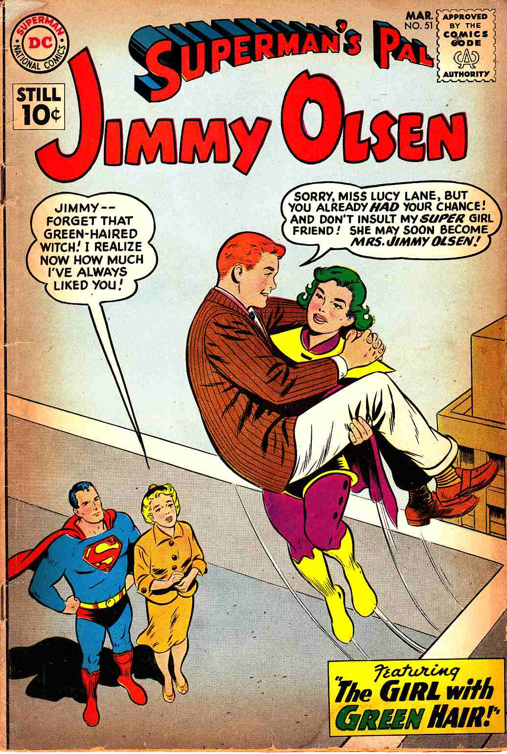 Superman's Pal Jimmy Olsen #51 Good (2.0) [DC Comics] LARGE