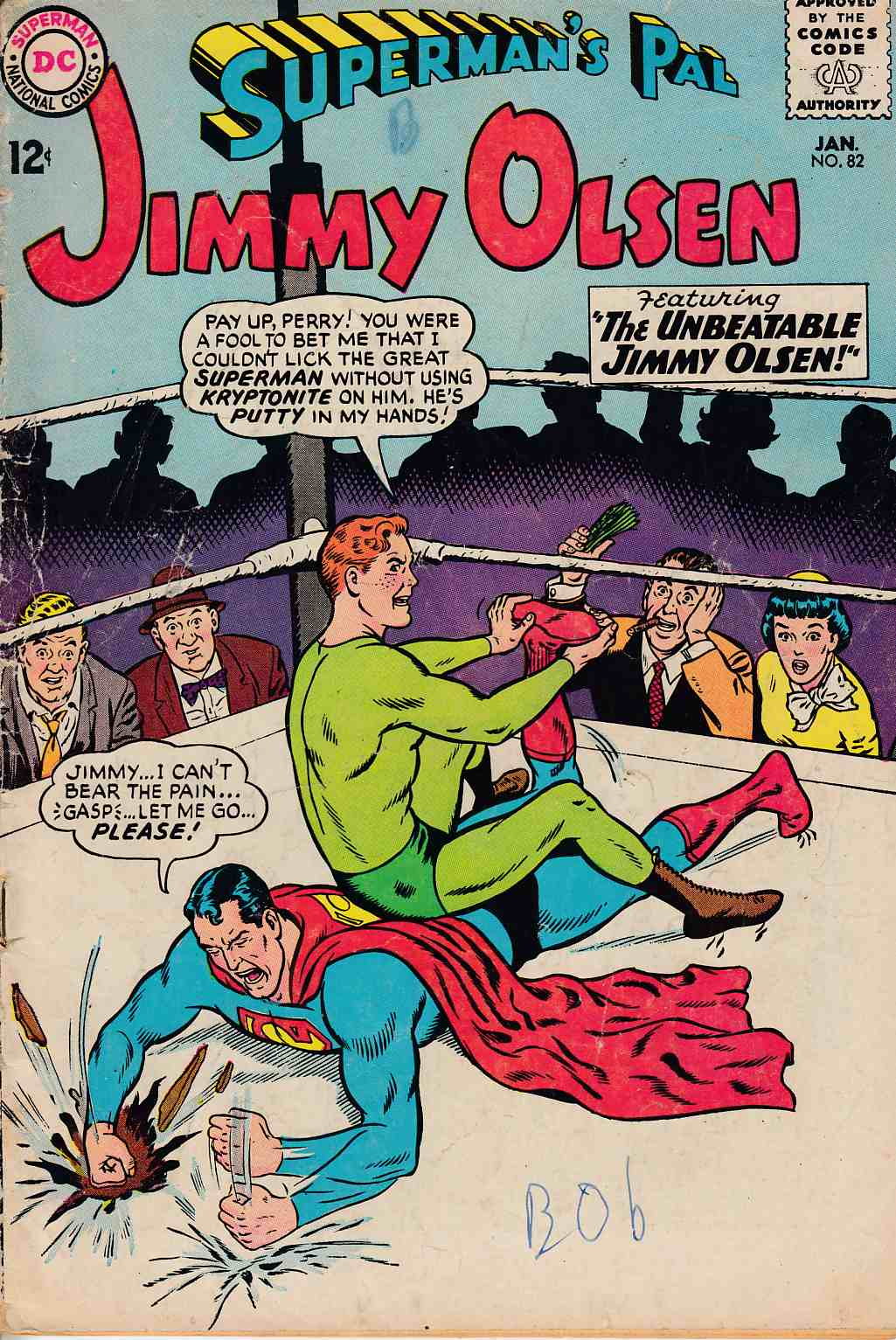 Superman's Pal Jimmy Olsen #82 Good (2.0) [DC Comic] LARGE
