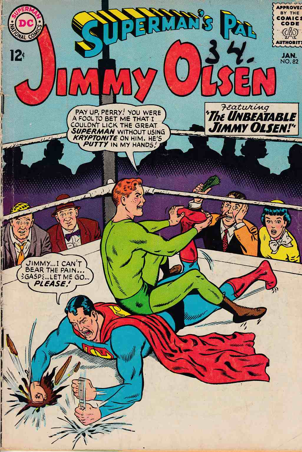 Superman's Pal Jimmy Olsen #82 Good Plus (2.5) [DC Comic] LARGE