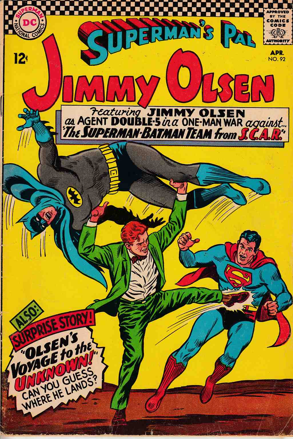 Superman's Pal Jimmy Olsen #92 Very Good (4.0) [DC Comic] THUMBNAIL