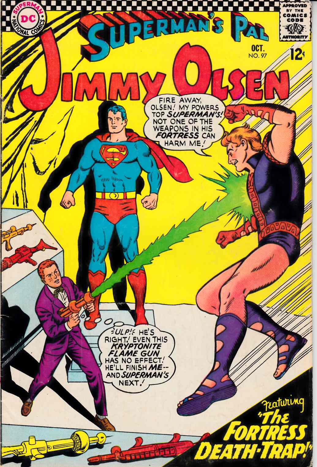 Superman's Pal Jimmy Olsen #97 Very Good (4.0) [DC Comic] LARGE