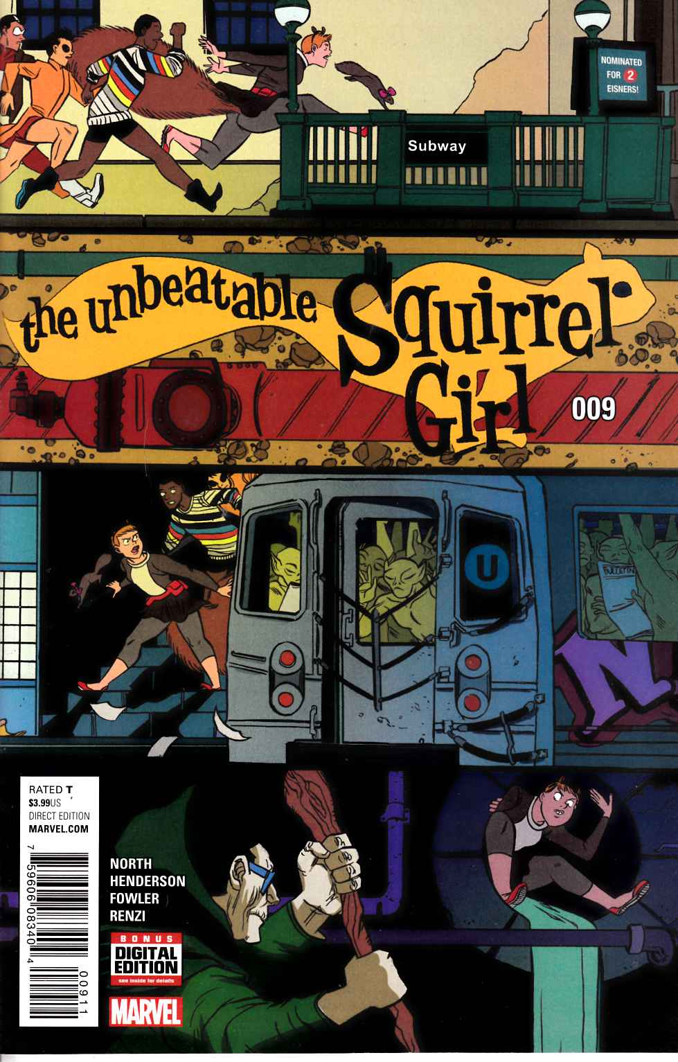 Unbeatable Squirrel Girl #9 [Marvel Comic] LARGE