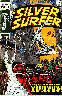 Silver Surfer #13 [Marvel Comic] LARGE