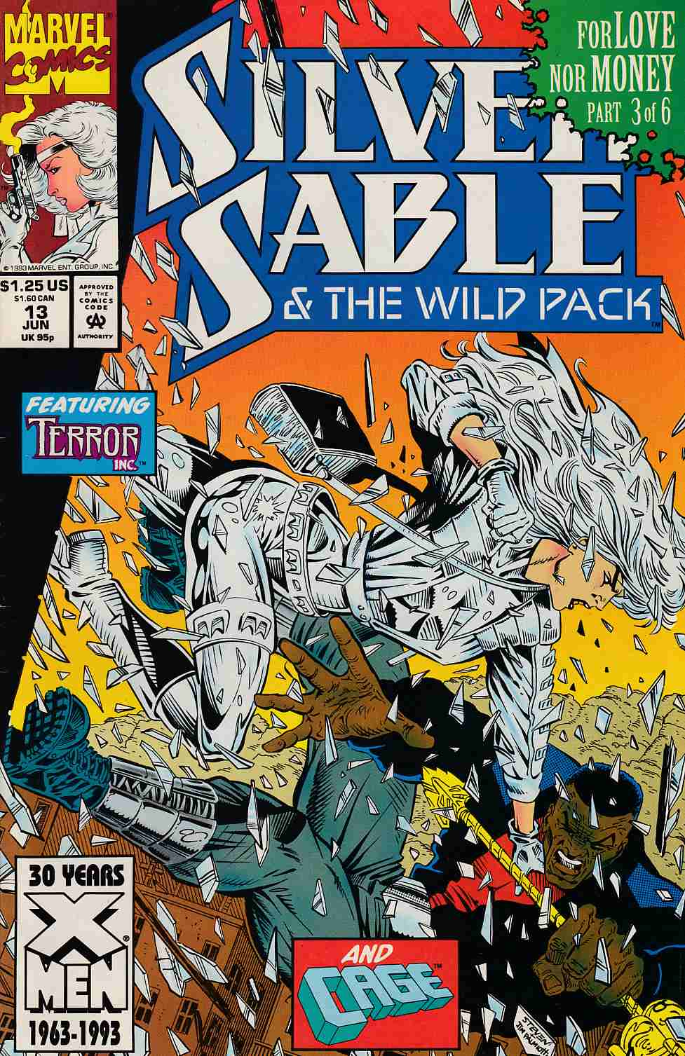 Silver Sable and the Wild Pack #13 Very Fine (8.0) [Marvel Comic] THUMBNAIL