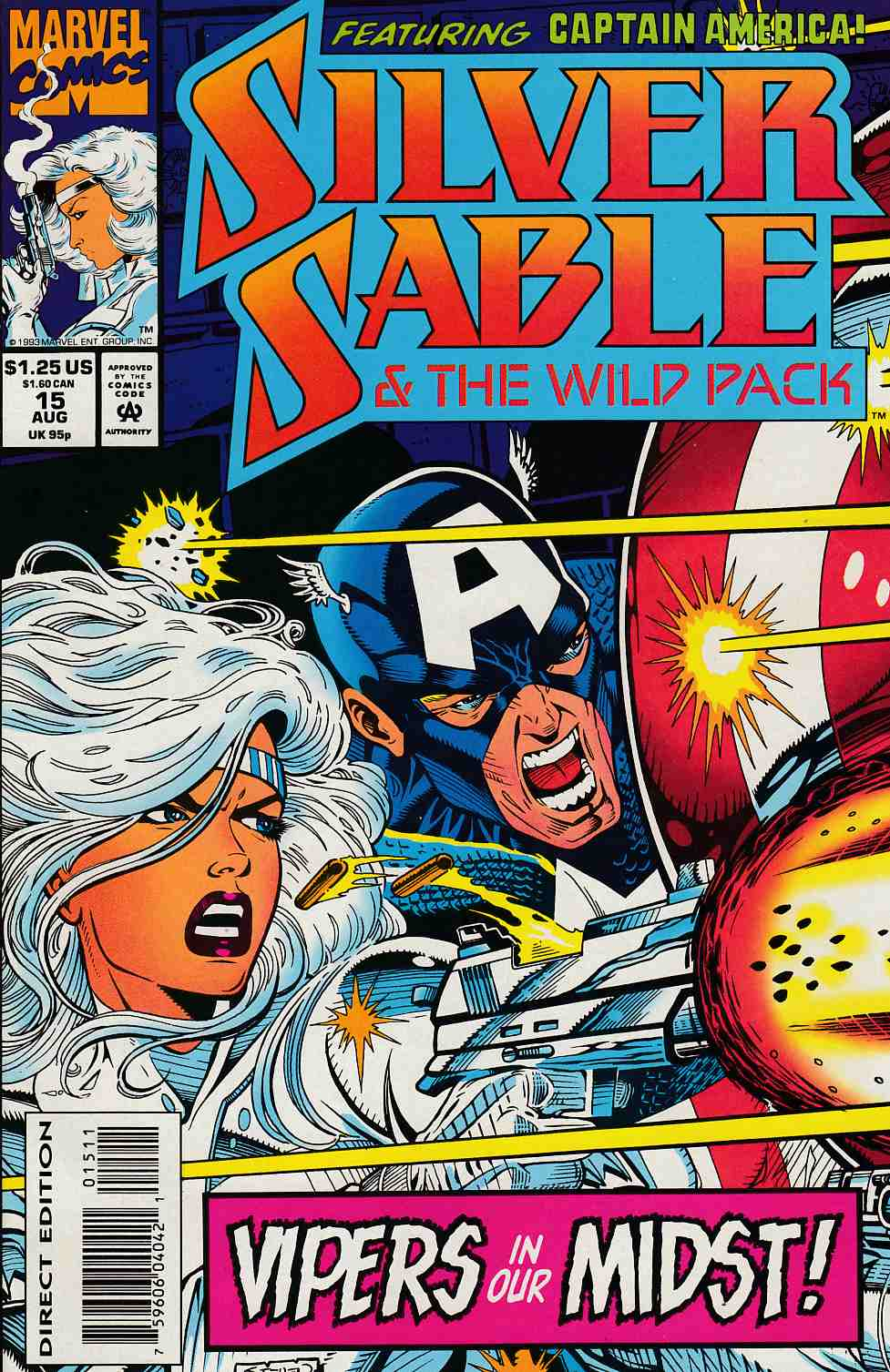 Silver Sable and the Wild Pack #15 Near Mint (9.4) [Marvel Comic] THUMBNAIL