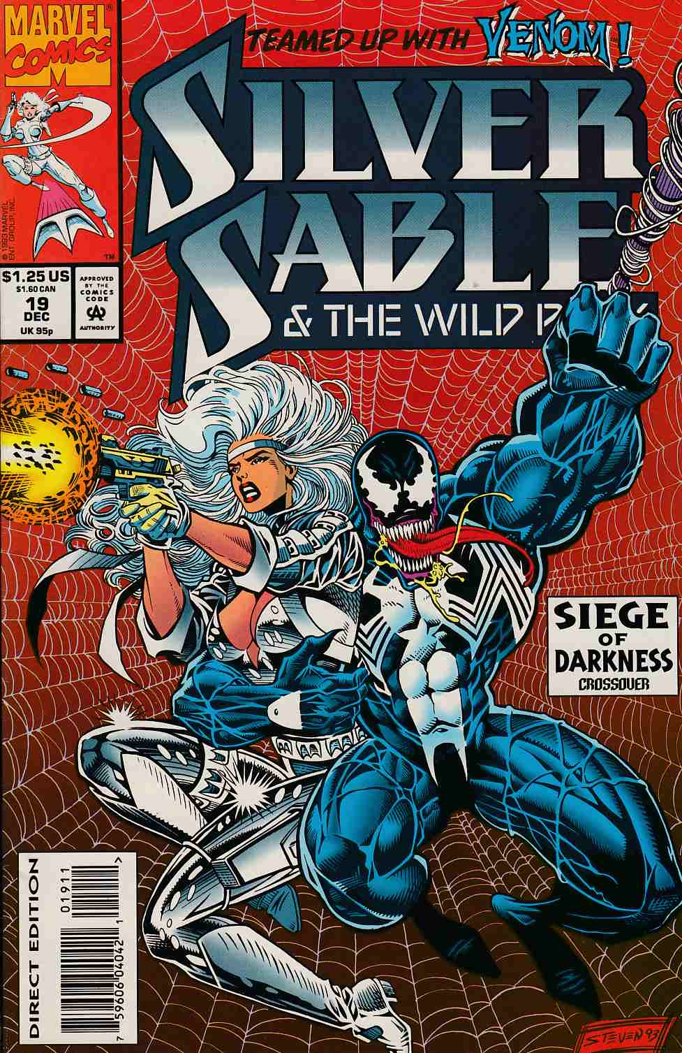 Silver Sable and the Wild Pack #19 Very Fine (8.0) [Marvel Comic] THUMBNAIL