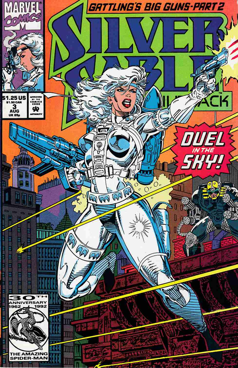 Silver Sable and the Wild Pack #3 Fine (6.0) [Marvel Comic] THUMBNAIL