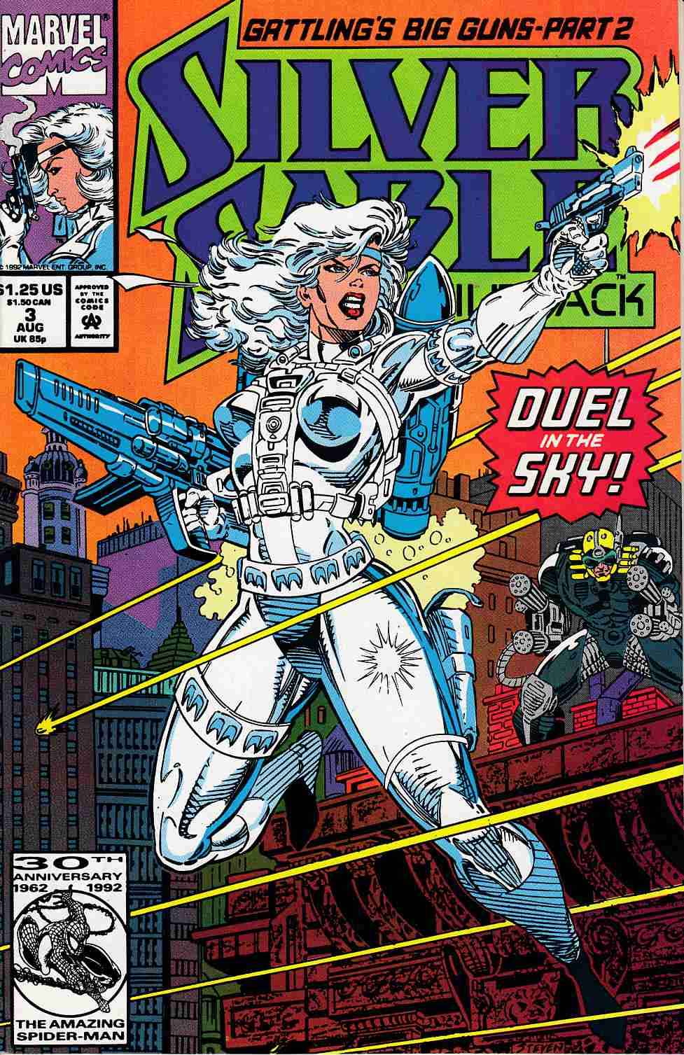 Silver Sable and the Wild Pack #3 Near Mint (9.4) [Marvel Comic] THUMBNAIL