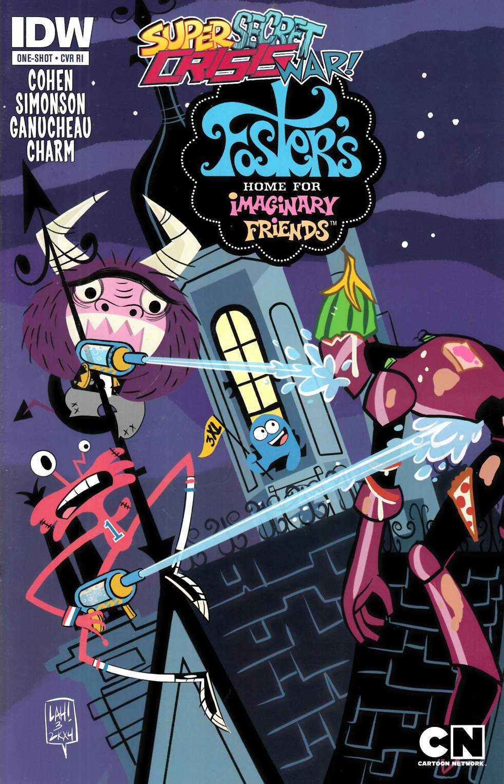 SSCW Fosters Home For Imaginary Friends #1 Cover RI [Comic] THUMBNAIL