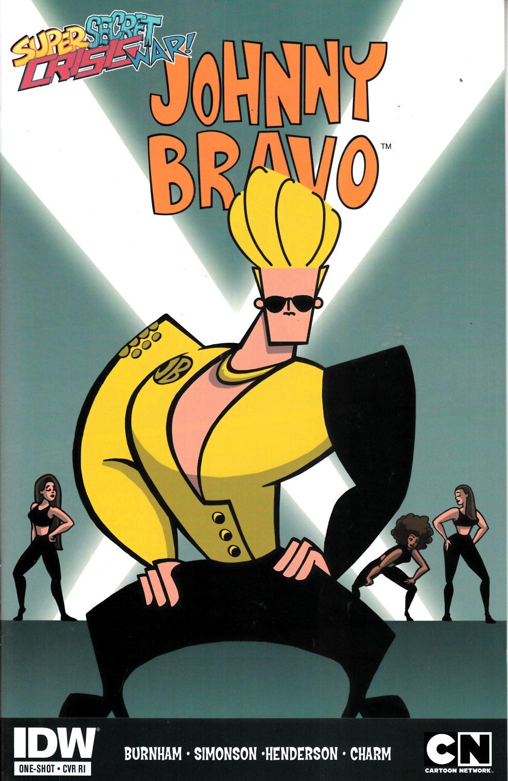 Super Secret Crisis War Johnny Bravo #1 Cover RI [Comic ...