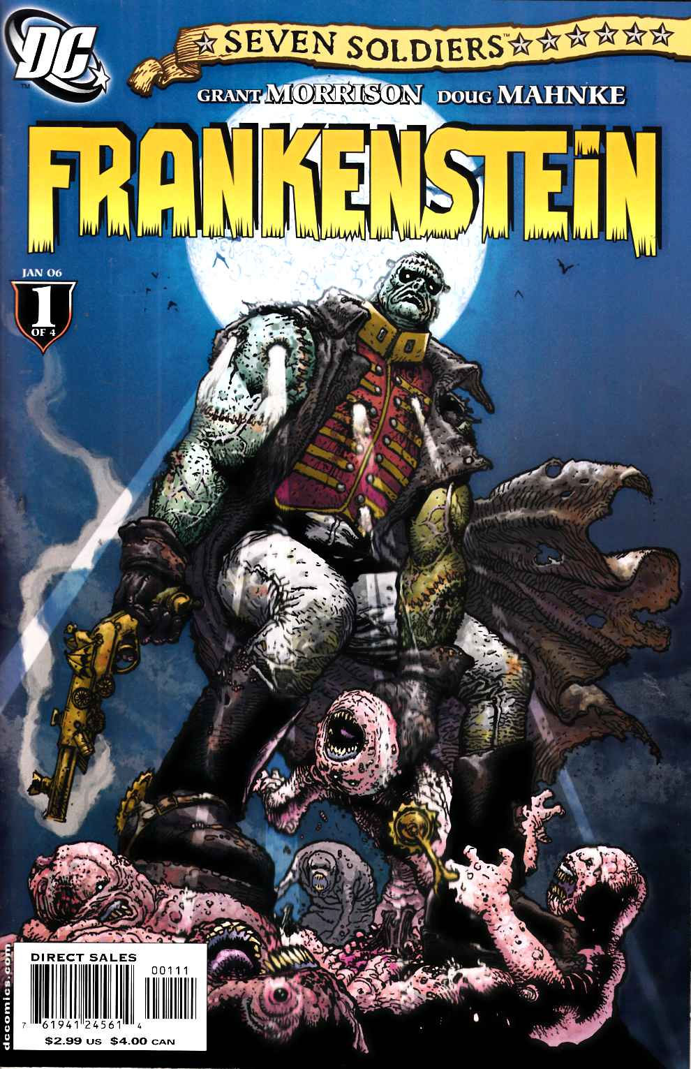 Seven Soldiers Frankenstein #1 Near Mint (9.4) [DC Comic] THUMBNAIL