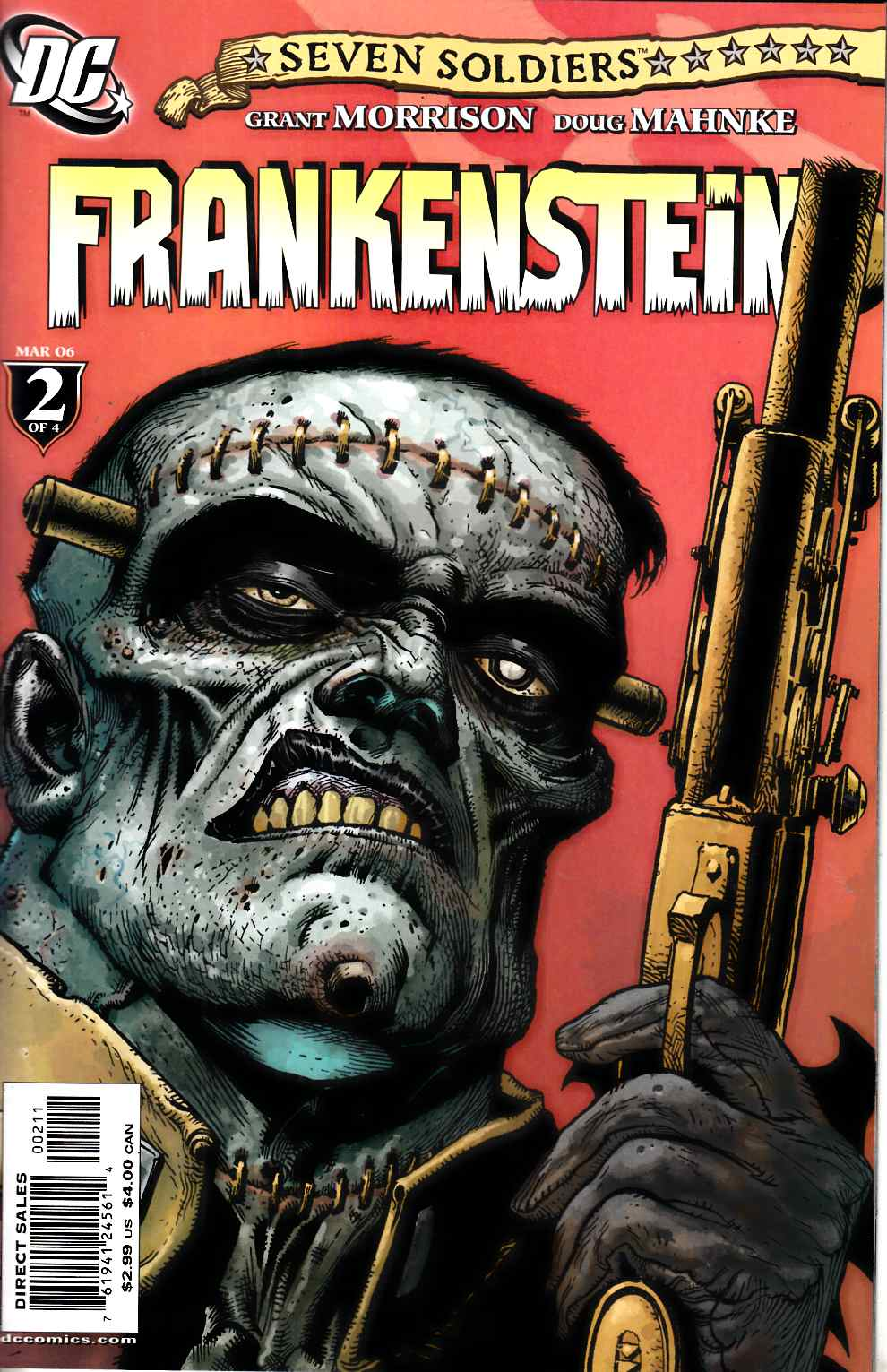 Seven Soldiers Frankenstein #2 Near Mint (9.4) [DC Comic] THUMBNAIL