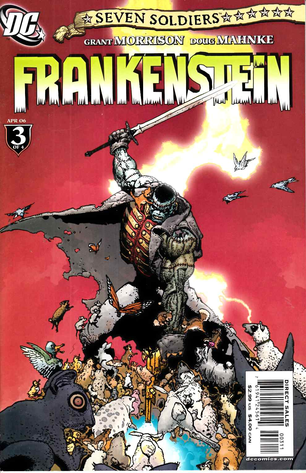 Seven Soldiers Frankenstein #3 Very Fine Minus (7.5) [DC Comic] THUMBNAIL
