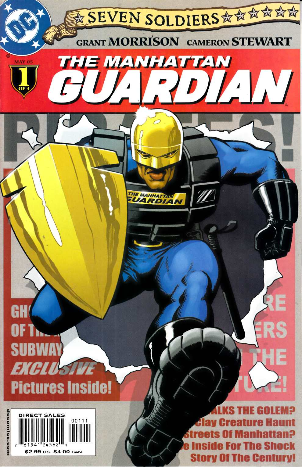 Seven Soldiers Guardian #1 Very Fine (8.0) [DC Comic] THUMBNAIL