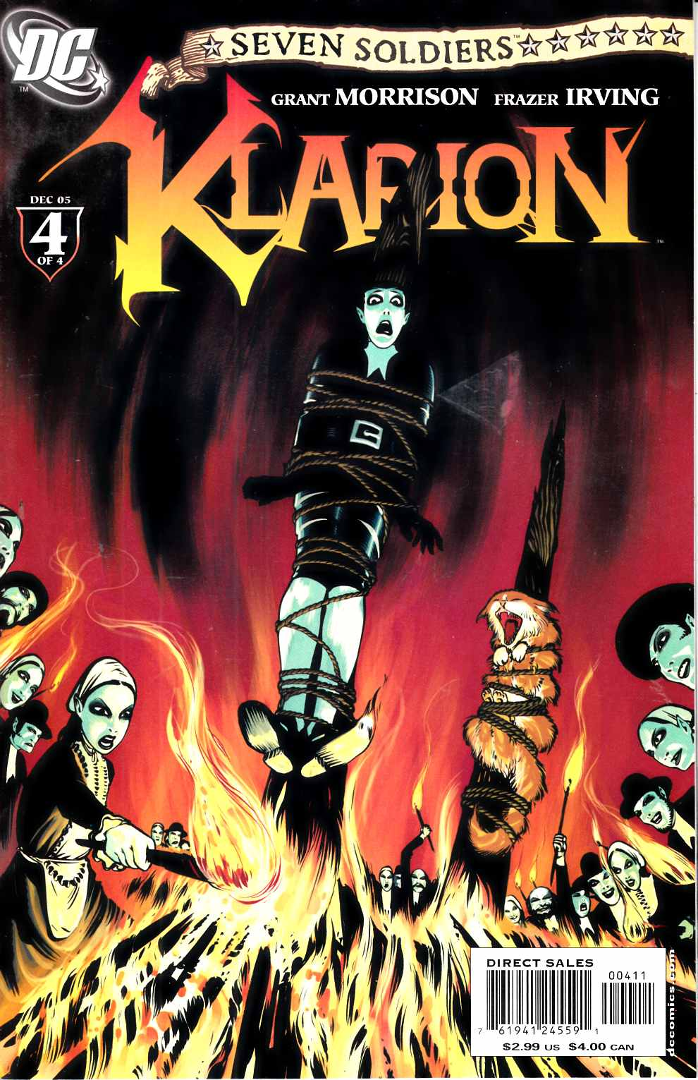 Seven Soldiers Klarion the Witch Boy #4 Very Fine Minus (7.5) [DC Comic] THUMBNAIL