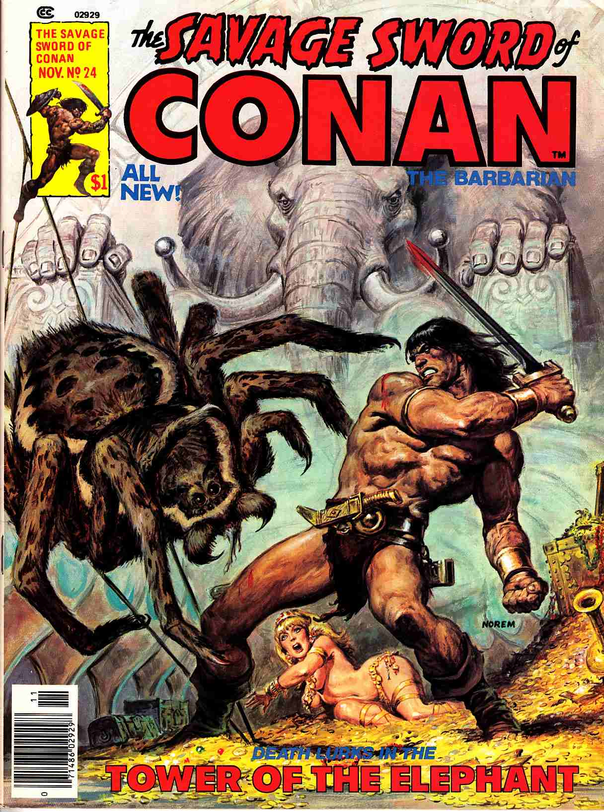 Savage Sword Of Conan #24 [Marvel Comic]_THUMBNAIL