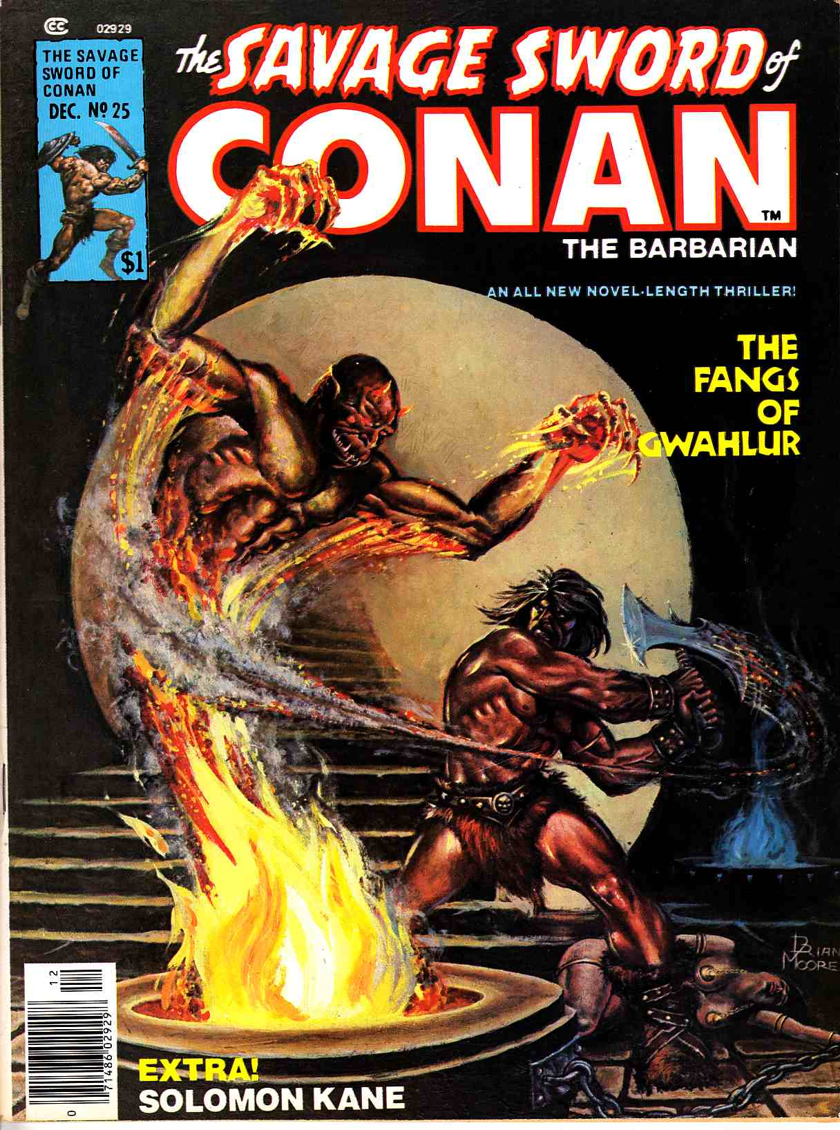 Savage Sword of Conan Magazine #25 Very Fine (8.0) [Marvel Comic] THUMBNAIL