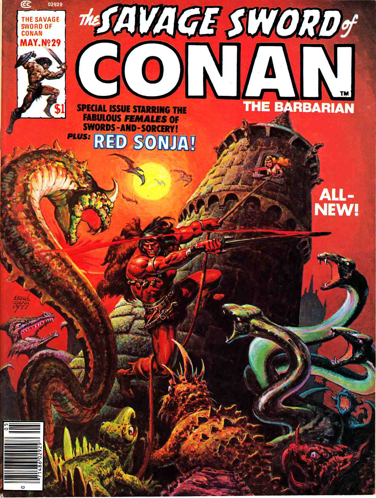 Savage Sword Of Conan #29 [Marvel Comic]_THUMBNAIL