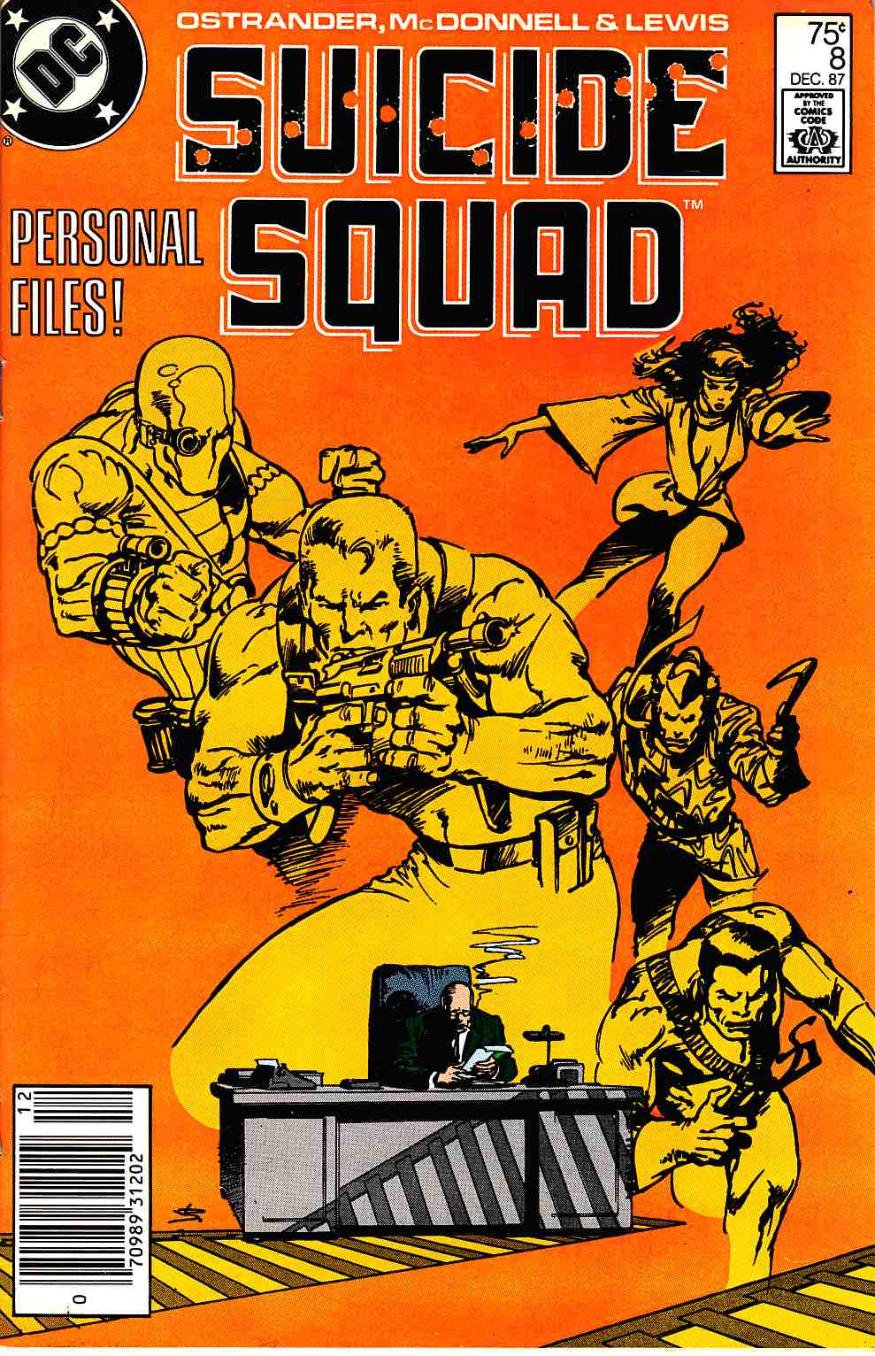 Suicide Squad #8 Newsstand Edition [DC Comic] THUMBNAIL