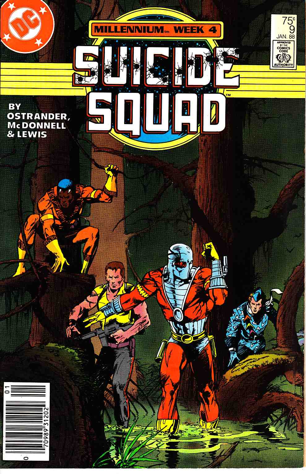 Suicide Squad #9 Newsstand Edition [DC Comic] THUMBNAIL