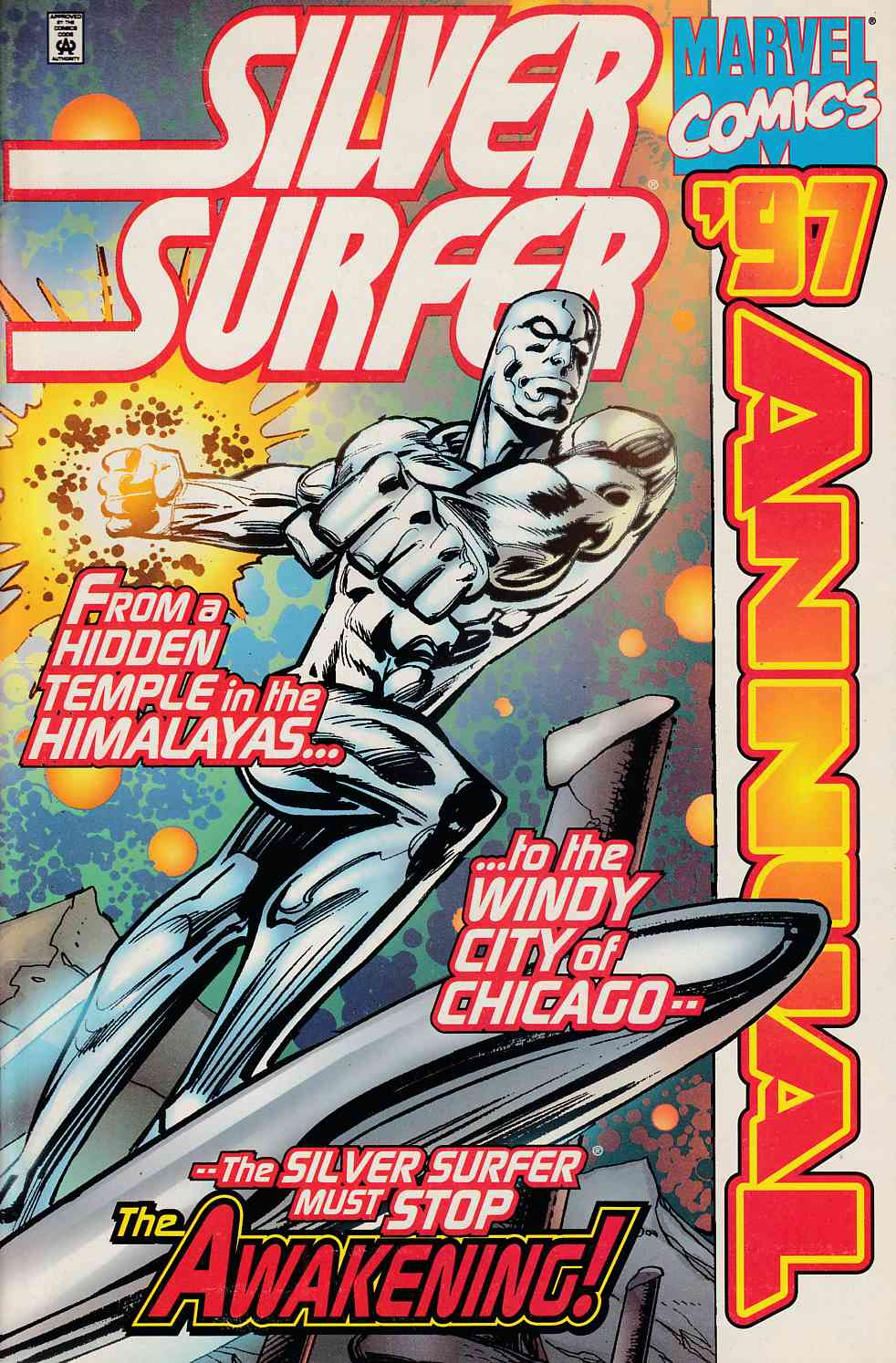 Silver Surfer Annual 1997 Very Fine (8.0) [Marvel Comic] LARGE